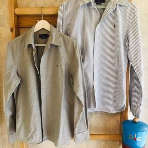 2 skønne skjorter brugt ganske få gange så begge er helt som ny - sælges kun pga stort vægttab, pris pr. skjorte