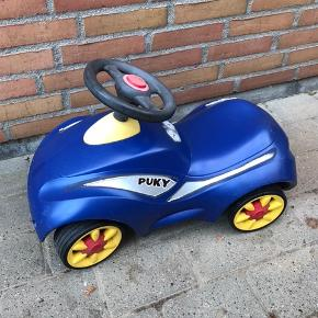 Puky Racer gåbil, blå.  Perfekt fra helt lille-3/4 år ca  Np 600 kr