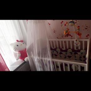 Baby seng 👶👧  Lang 125 , bred 70 , høj 92 ..
