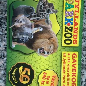 Jyllands park zoo 4 entrebillete