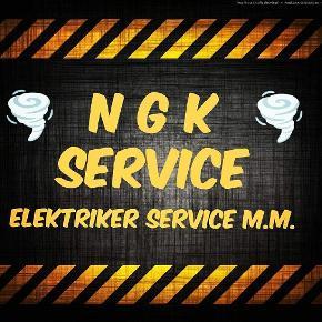 """NGK SERVICE """"Billig elektriker service og meget andet i højeste kvalitet"""". TLF : 52686314  EMAIL: niklasglenk@gmail.com https://www.facebook.com/ngk.service/  Jeg laver stort set alt elektriker og andet håndværker arbejde. Uddannet Elektriker i 2011 og har erfaring indenfor mange andre håndværker fag.   - Lej mig. - Døgn service 24/7 (akut hjælp med strøm). - Tilslutning af komfuer/vaskemaskiner.  - Opsætning/tilslutning af lamper m.m. - Udskifting af stikkontakter. - Fejlfinding på gamle el-installationer. - Radiatorer (vand og el).  - Udskifting af cylindere/låse.  - Rengøring, oprydning og nedrivning m.m. - Havearbejde.  - Malerarbejde.  - Småt blikkenslager (vvs) arbejde.  - Reparation af armbåndsure, lænker, remme m.m.  - Komplette hjemmeside løsninger.  Kontakt mig her på siden eller ring/skriv på 52686314 angående priser eller hvis du skulle have nogle spørgsmål.  NGK SERVICE  TLF: 52686314  EMAIL: niklasglenk@gmail.com https://www.facebook.com/ngk.service/  #billigelektriker #billighåndværker #sydsjælland #håndværker #elektriker #elservice  #nykøbingfalster #falster #nykøbing #hjælp #elhjælp #døgnservice #elektrikerdøgnservice"""
