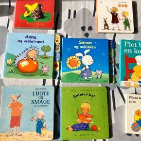 8 begynderbøger med tykke sider til det lille barn