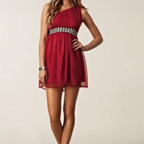 One shoulder kjole med bindebånd str xs  Kan hentes i Glostrup eller sendes (40kr) 📦 Se flere ting på min profil - følg gerne 🌼🐝