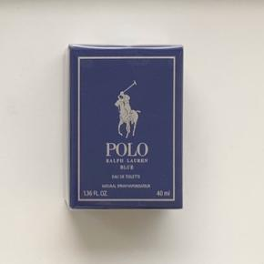 Ralph Lauren Polo Blue 40 ml  Jeg sælger denne ubrugte og uåbnede duft. Jeg er villig til at forhandle om prisen, dog frabeder jeg mig useriøse bud.