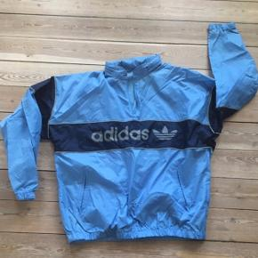 Super fed retro Adidas sports-anorak i str. Medium