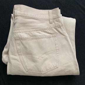 Vintage beige bukser fitter ca 33/32 eller en str 42 Fitter nogenlunde som dickies 873 God stand