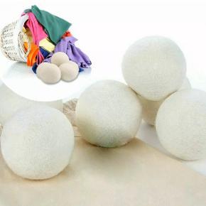 Nye tørrebolde i uld sælges i 4 stk  Fast pris