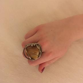 Vintage ring mærket Chromica. Justerbar.