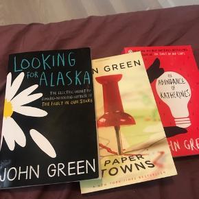 Forskellige bøger af John Green