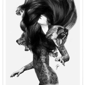 Bear 3 af Jenny Liz Rome Str. 40*60 cm