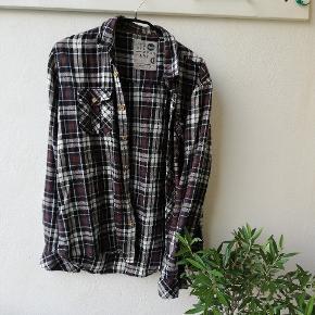 Skovmands skjorte vintage lidt lille i størrelsen