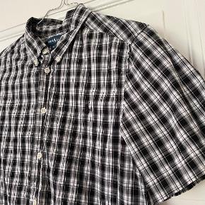 Kortærmet ternet skjorte str. L (14-16) fra Ralph Lauren