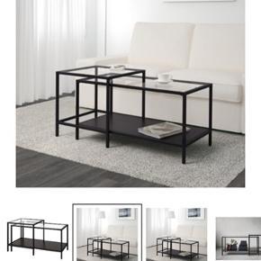 Sælger dette sofabord da vi har købt et nyt - fra Ikea og kostede 399kr for ny!   BYD endeligt 😊