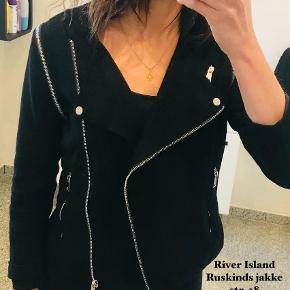 River Island pels- & skindjakke