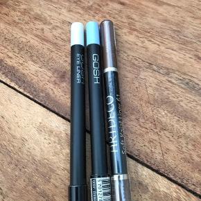 Gosh Whithe Pearl og Ice Blue. Næsten nye Artedeco -Ny og ubrugt. lys brun nr. 61. Pris pr. stk. 35,-.