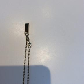 Sælger denne fine halskæde, brugt en enkelt gang