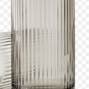 """I smoke i størrelsen 25 cm. Nypris er 800 kr. Kom endelig med et realistisk bud. #trendsalesfund """"vase #lyngby #interior"""