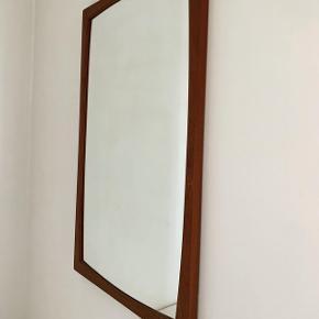 Teak spejl 51x80 cm