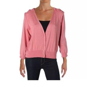 City chic pink cardigan med sløjfer. Uk size 18. Ny med skilt. Nypris 399kr.