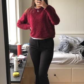 Rød, lilla, lyserød, Rosa, mørkerød pels fake fAux, fur dejlig blød langærmet trøje, bluse, sweater.  Kan passes af Xs - s- m - l