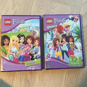 Varetype: 2 Lego Friends dvd film, 6 afsnit i altStørrelse: dvd Farve: Ja Oprindelig købspris: 200 kr.  30,- pr stk eller begge samlet for 50,-