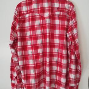 Super flot flannels bomuld skjorte brugt kun få gange.