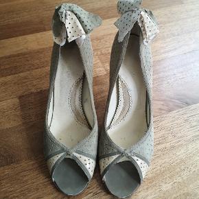 Vintage pastel grønne sko