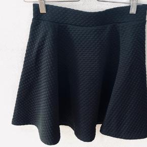 Vaflet nederdel