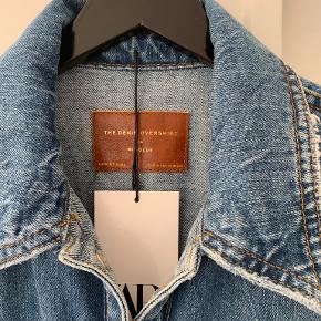 Cool denim over-shirt fra Zara