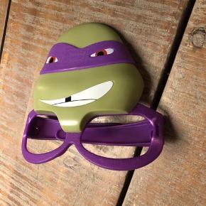 Ninja Turtles briller til udklædning. Perfekte til børn der ikke bryder sig om at få masker på men stadig gerne vil have udklædning til ansigtet.
