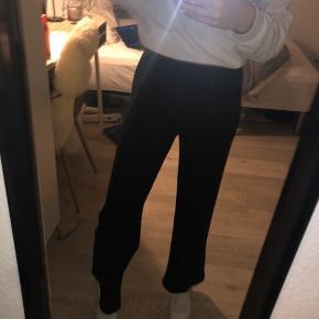 Populære pieces bukser i str small