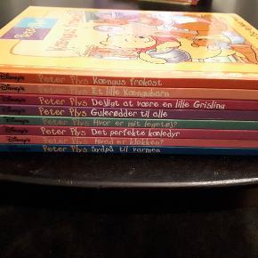 8 Peter Plys bøger i rigtig god stand  Porto 45 kr.