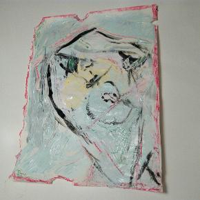 Sælger disse malerier UDEN Ramme. 205 kr. Inklusiv fragt 27 x 36  cm  Følg med på min profil, flere maleier kommer til salg