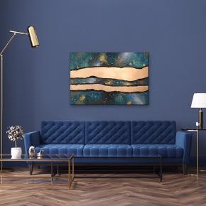 Maleri med målene 120x80x4 cm. Malet med akryl og spray 🎨 Pris er uden forsendelse Tager også imod bestillinger efter egne farve- og størrelsesønsker 🍭🙏🏽 ROAR