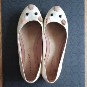 Marc Jacobs ballerina sko i str 38 1/5.