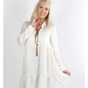 Zanca Sonne skjortekjole ny med prismærke  Super fin   Ts eller mp