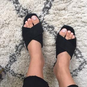 H&M slip-in sandaler fra tidligere kollektion. Super comfy og passer til alt.  Str. 40 og størrelsessvarende