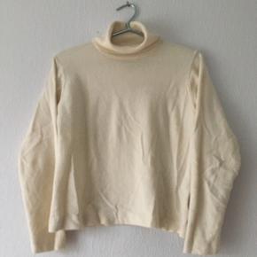 Bruge sweater strik bluse højhalset, str. L/40-42