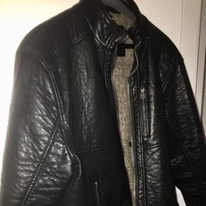 Black very soft leather / sort meget blødt læder