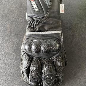 R2 MC Carbon leather  Motorcykel handsker Str. L