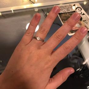Forskellige sølv ringe, alle sammen str 52