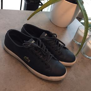 Super flotte mørkeblå lacoste sko