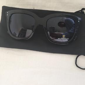 Solbriller fra ukendt mærke.  Købt i en butik i Skagen.  Aldrig brugt.