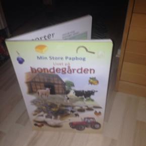 Dejlig børne bog med gode billeder af dyr, grøntsager , biler og maskiner og hvad tingene hedder. De er stadigvæk til salg trods at de har deaktiveret ????