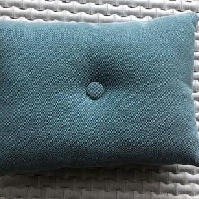 Hay pude Dot  Str 55x40 cm Blå grøn