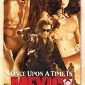 """Dvd film  """" Once upon a time in Mexico """"  Mindstepris : 25 kr plus porto Porto er 37 kr. med DAO uden omdeling  MÆNGDERABAT VED KØB FRA FLERE KAN DEN KØBES MED FOR 22 KR PLUS EVT MER PORTO  TAG 5 DVD FILM FOR 110 KR PLUS PORTO  DER KAN VÆRE OP TIL 5 DVD FILM I PORTOEN TIL 37 KR MED DAO UDEN OMDELING  Bytter Ikke"""