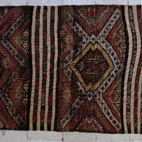 Kelimtæppe 86x185 Håndvævet i Tyrkiet i slutningen af 40'erne i Kars provinsen ved Armenien