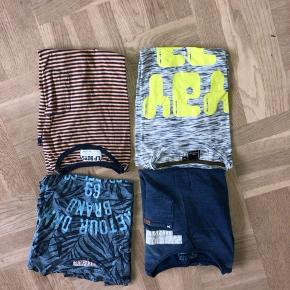 4 t-shirts Hummel, LP BOYS og RETOUR