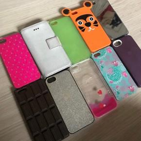 IPhone 5s covers   1stk: 15 2stk: 25 3stk: 32 Skriv hvis du vil have flere
