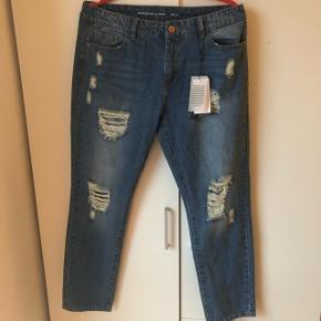 Boyfreind jeans med huller